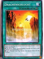 Yu-Gi-Oh - 1x Drachenschlucht - SR02 - Structure Deck Rise of the True Dragon