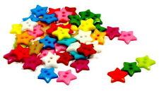 Stern-Knöpfe zum Nähen aus Kunststoff