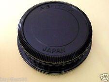 Japan Made PK Camera SLRs Body Cap + Rear Lens Cap for Pentax PK K -Mount