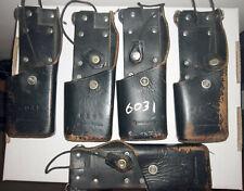 Motorola NTN8125B Leather Holster for Motorola Astro Saber