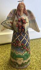 New ListingJim Shore Angel Figurine Guardian of Garden Flowers Heartwood Creek