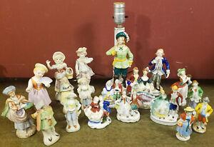 Occupied Japan Colonial Porcelain Figure Lot of 19