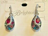 Brighton Trust Your Journey French Wire Earrings Swarovski Crystals