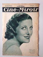 CINE MIROIR N°476 18 MAI 1934 MARCELLE CHANTAL