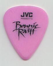 Bonnie Raitt Signature Pink JVC Guitar Pick - 1990s Tours