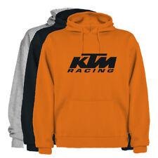 Sudadera Hombre KTM RACING Barata Jersey Sudadera con Capucha Hombre Unisex