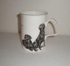 """Pollyanna Pickering Fine Bone China Mug""""Labrador Retriever""""Staffordshire England"""
