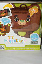 "HAPPITAPS Huggable Smartphone Friends ""Beary"" Brown iPhone/iPod Touch Compatible"
