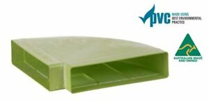 Ecoduct Low Profile PVC 90° Horizontal Bend - 300x70 - Pack of 14