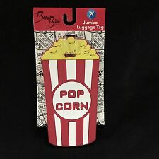 Popcorn Rubber Oversized Luggage Tag Pop Corn Bon Bini Travel