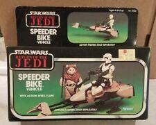 VINTAGE 1983 STAR WARS RETURN OF THE JEDI SPEEDER BIKE NEW IN BOX