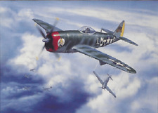 WOLFPACK LEADER DOWNS FIVE (PILOT SIGNED) by Jerry Crandall - Aviation Art Print