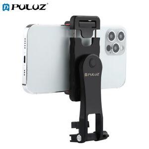 PULUZ 360 Degree Rotating Phone ABS Clamp Holder Bracket For Smartphones (Black)
