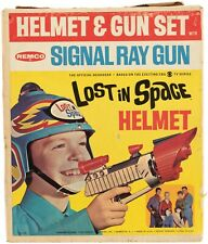 Original Vintage LOST in SPACE Helmet and Gun Set Original Box Remco 1966