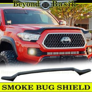 For 2016-2018 2019 2020 2021 Toyota Tacoma SMOKE Bug Shield Deflector Hood Guard