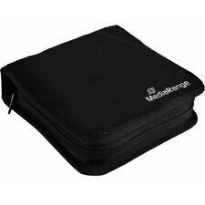1 Mediarange 24 Black Storage CD DVD discs Zip wallet Nylon Box50