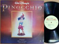 Walt Disney's PINOCCHIO / 1992 Korea Orig 1st Vinyl. NMINT Very RARE !