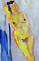 Edith Meyer von Kamptz 1884 - 1969 - Stehender Frauenakt