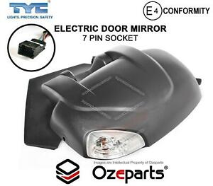 LH LHS Left Hand Electric Door Mirror With Light For Renault Master X62 10~21