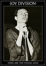 Poster JOY DIVISION - Ian Curtis - Here Are The Young Men ca60x85cm NEU 14067