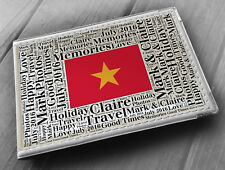 "Personalised photo album, memory book, 6x4"" photos, Vietnam holiday gift"
