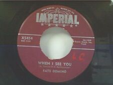 """FATS DOMINO """"WHEN I SEE YOU / WHAT WILL I TELL MY HEART"""" 45"""
