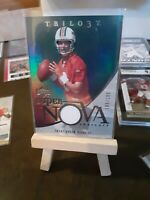TRENT GREEN 2007 UPPER DECK TRILOGY SUPER NOVA SWATCHES JERSEY #SS-TG 189/199