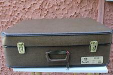 Valigia Vintage Viaggiata Marzotto Estasi Usata Marrone 524 Anni '40