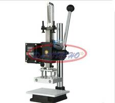 Hot Foil Stamping Pressure Mark Machine Logo Embossing Bronzing 5x7cm 110220v