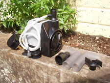 2000 LITRE WATER PUMP,PONDS/FOUNTAINS/KOI/HYDROPONICS HAILEA HX-4500