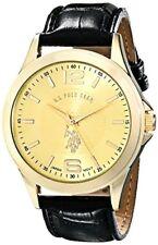U.S. Polo Assn. Classic Mens Analog Display Quartz Black Watch