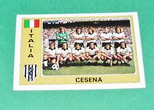 N°139 CESENA ITALIE ITALIA PANINI EURO FOOTBALL 1976-1977