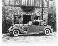 1934 Packard Twelve Dietrich Convertible Coupe, Factory Photo (Ref. #61762)