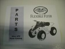 Go Kart Fun Cart Yerf Dog 33 PAGE Owners Manual Model ATV 90CC  New