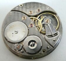 Lord Elgin 19 Jewels pocket watch movement need Service (k95)