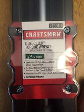 Craftsman Digi-click torque wrench 1/2 inch NEW