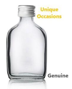 Miniature 50ml Glass Bottle Gin Wedding Favour Zam Zam Flask Mini Gift Nikkah