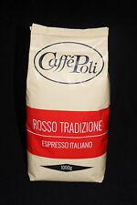 Poli Espresso Caffé - BAR Rosso Tradizione, 10 x 1 kg Bohnen, Kaffee, Cafe