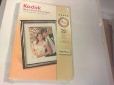Kodak-Ultra-Premium Extra lucida-Carta fotografica 10X15cm (4 x 6 pollici) x 20 FOGLI