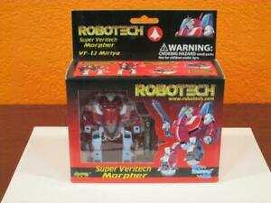2001 ROBOTECH SUPER VERITECH MORPHER VF-1J MIRIYA FIGHTER TRANSFORMER ROBOT MIB