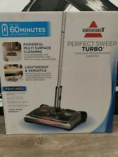 New Bissell Perfect Sweep Turbo Powered Cordless Rechargeable Sweeper 28801