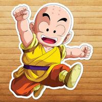 Krillin Dragon Kid Kuririn Son Ball Goku Car Die Cut Window Vinyl Decal Sticker