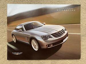 2004 Chrysler Crossfire Car Brochure (Canada)