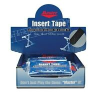 """Master 1"""" Super Textured BLACK Bowling Tape 32 Piece Pack"""