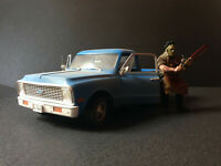 Chevrolet C10 Chevy C-10 The Texas Chainsaw Massacre mit Figur with figure 1:18