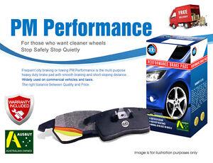 For Holden Statesman WM V6 V8 08/2006-NOW Rear Performance Brake Pads DB1766