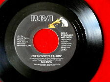NILSSON~ EVERYBODY'S TALKIN~ I GUESS THE LORD MUST BE IN NEW YOUR CITY~ ~ POP 45