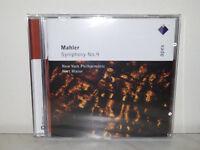 CD MAHLER - SYMPHONY NO. 9 - KURT MASUR - NYPO - NUOVO NEW