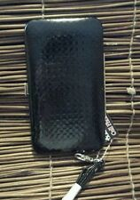 ~L@@K~ Samsung & Apple 5 wallet case with wrist strap