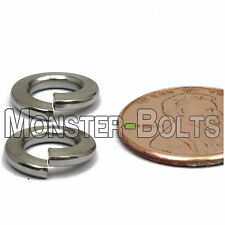 M6 / 6mm - Qty 10 - DIN 127B Split Lock Washer Stainless Steel 18-8 / A2-70